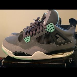 Retro 4 grey/ green